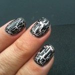 Black crackle